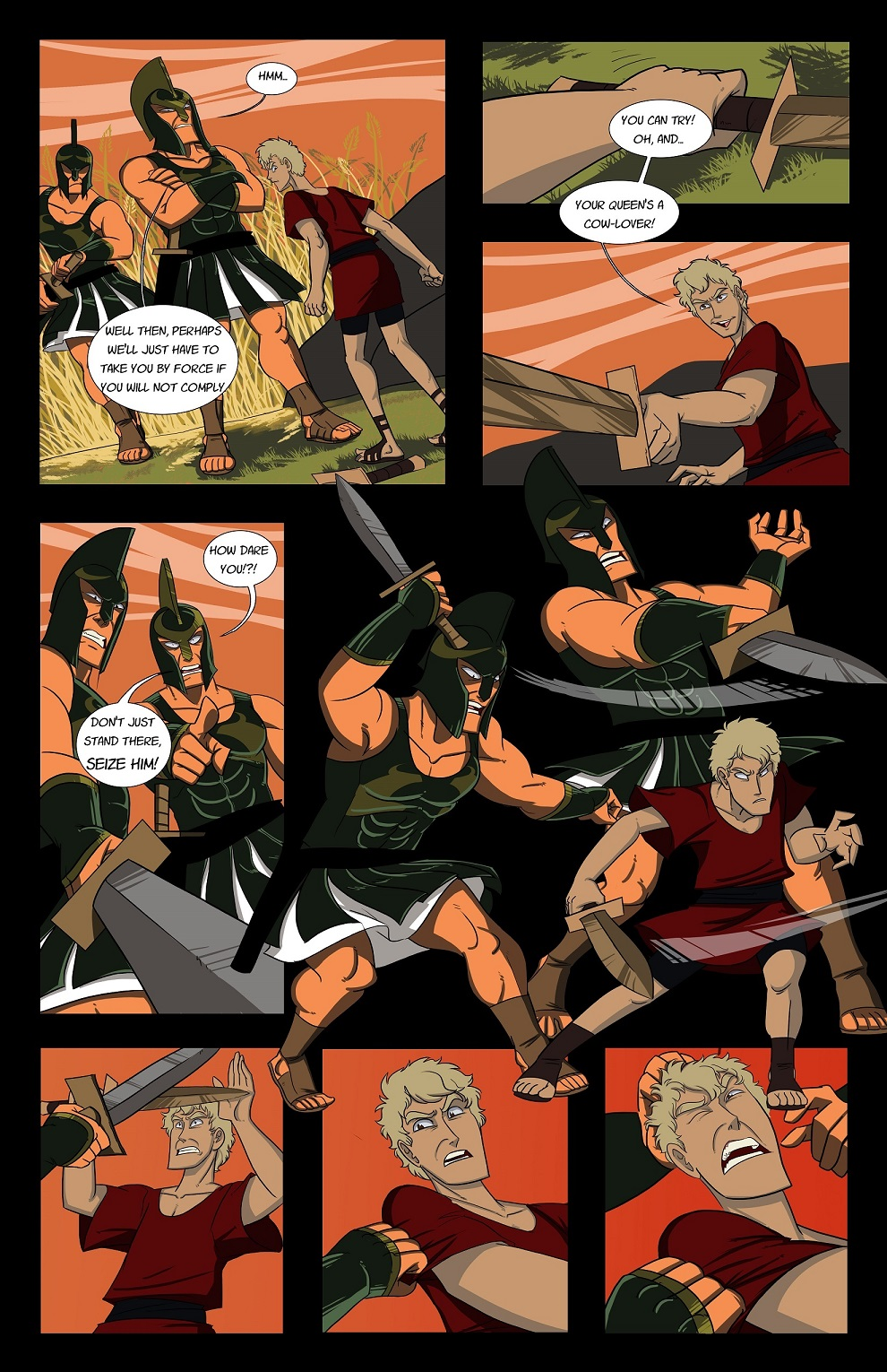 Episode 1 - Rewriting History - The Myth Begins Part 1 - Page 10